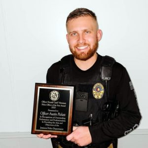 Officer Austin Pickett – 2020 Officer of the Year