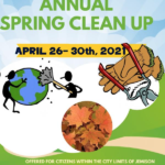 Annual Jemison Cleanup April 26-30, 2021