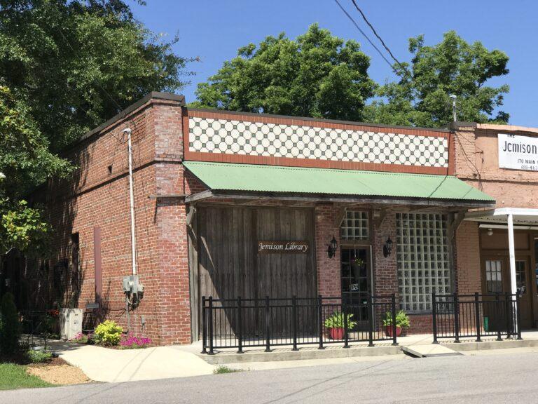 Jemison, Alabama Library - Front